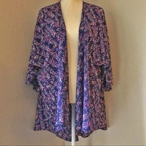 LuLaRoe Lindsay Kimono Style Cardigan